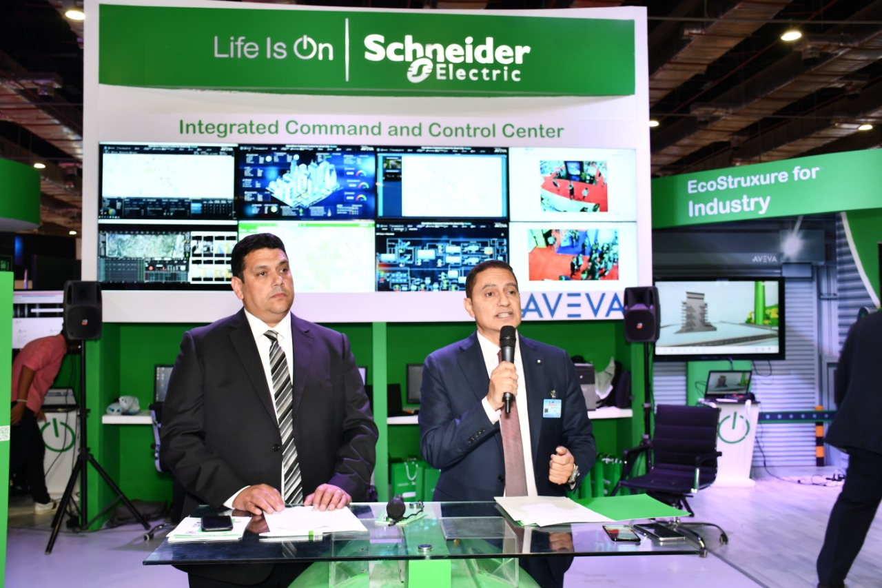 Schneider Electric showcases the latest smart city technologies at Cairo ICT 2018, CC Plus