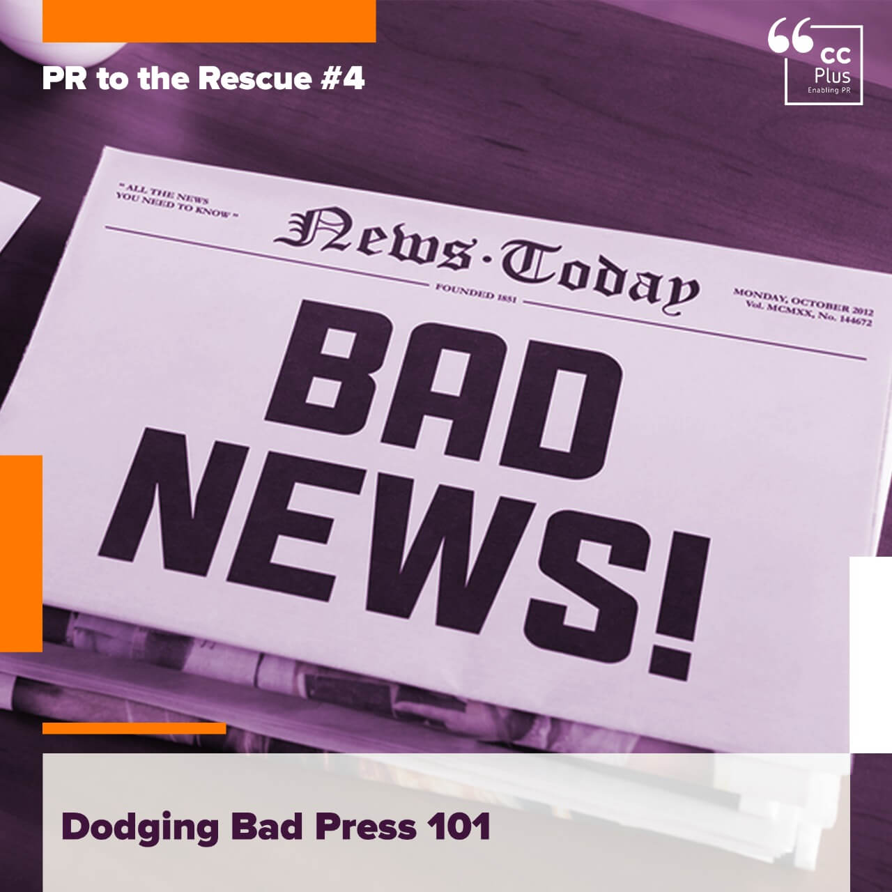 How to Avoid Bad Press